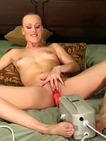 Sharon Wild submits to her first on-camera anal intrusion.